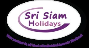 Das Logo von Sri Siam Holidays, Ihrem Asien Experten mit über 30 Jahren Erfahrung vor Ort