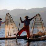 Einbeinruderer Inle See , Myanmar Rundreise