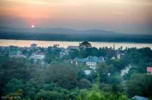 Sonnenuntergang über Mawlamyaing