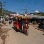 das häufigste Transportmittel in Tachilek