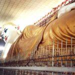 die Chauk Htat Gyi Pagoda in Yangon