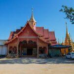 Schöner Tempel bei Tachilek