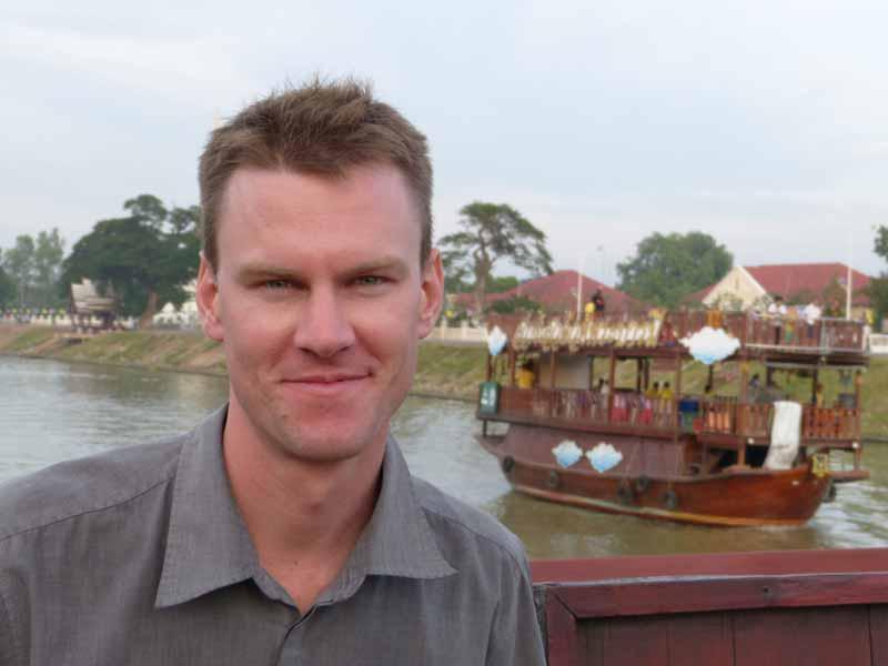 Andreas Sprengart auf Inspektionstour, auf der Suche nach immer neuen schönen Ecken