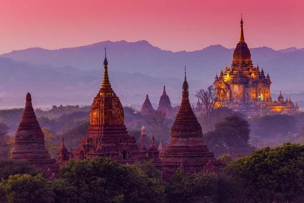 Myanmar Rundreise Tempel Bagan