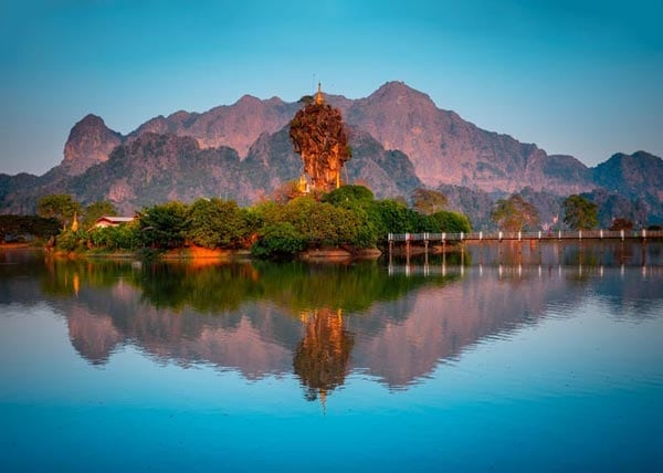 Myanmar Rundreise Tempel
