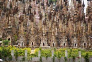 Myanmar Rundreise, Kakku Burma