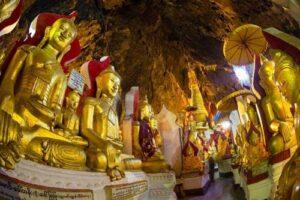 Myanmar Rundreise Pindaya, Kulturelle Highlights