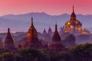 Myanmar Rundreise Sehenswürdigkeiten, Bagan