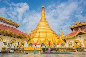 Ein weiteres Highlight dieser Tour durch Myanmar ist die Kyaik Tan Lan The Old Moulmein Pagode.
