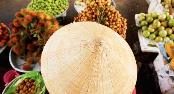 Myanmar Essen Die tropischen Früchte