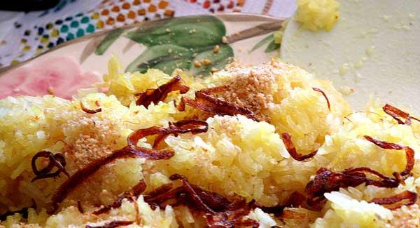 Myanmar Essen Klebreis