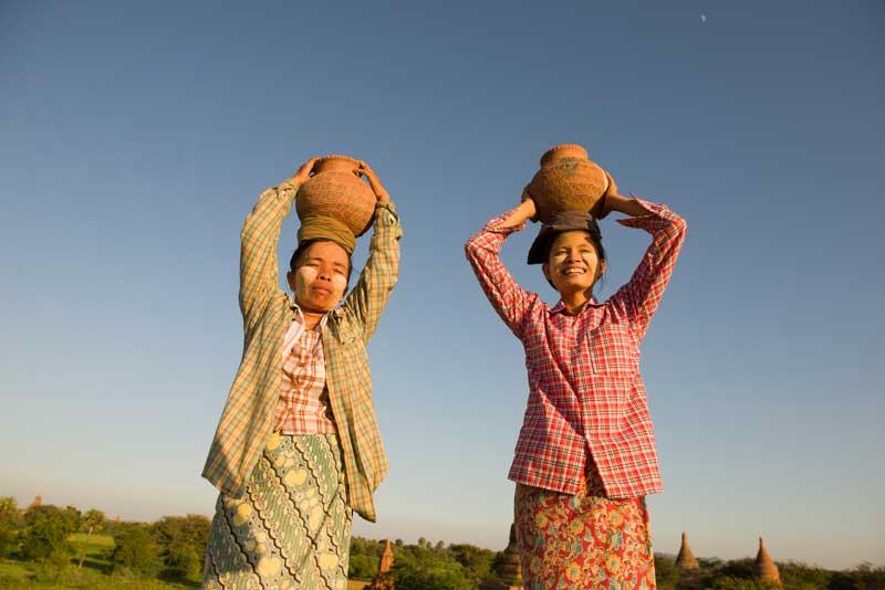 Myanmar Longyi, tradition und Kultur Myanmar