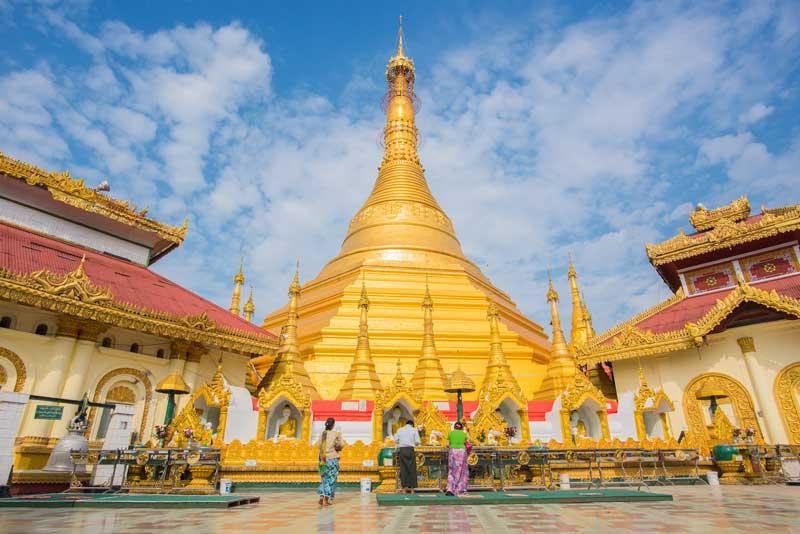 Hinweise Pagode Myanmar Reise