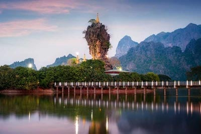 Rundreise Myanmar Einblick Mon und Karen Staat