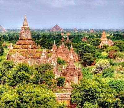 Myanmar Reiseführer Bagan
