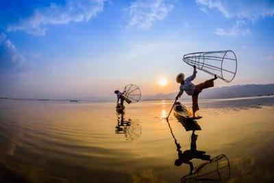 Myanmar Reiseführer Inle See