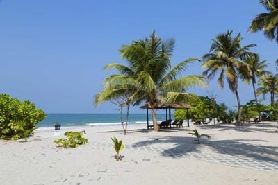 Myanmar Reiseführer Ngwe Saung Beach