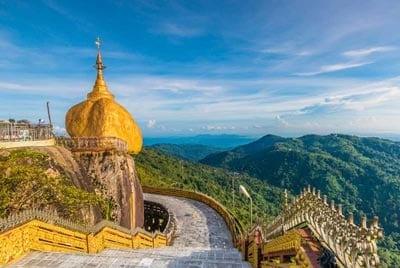 Rundreise zum Goldenen Felsen in Myanmar