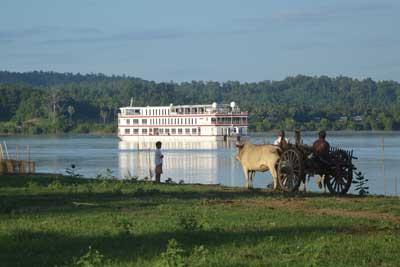 Luxus Kreuzfahrt in Myanmar auf der traumhaften Orcaella